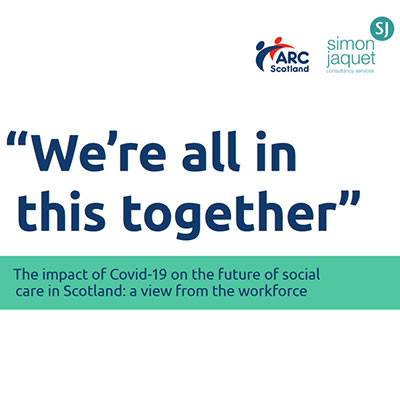 We are all in this together - report covid pandemic social care 2020