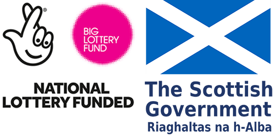 National Lottery Funded - Scottish Government Logo